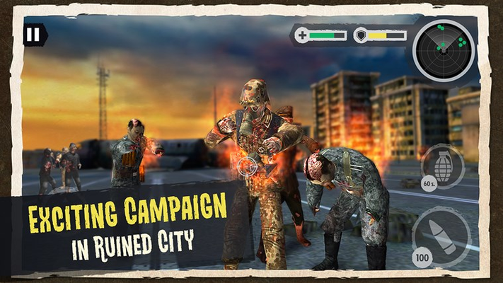 Exciting campaign in a ruined city