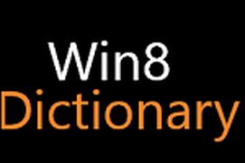 Win8 Dictionary
