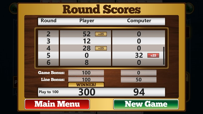 Gin Rummy Pro for Windows 8