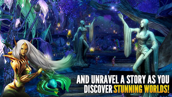 AND UNRAVEL A STORY AS YOU  DISCOVER STUNNING WORLDS!