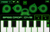 The ADSR screen lets you play the keyboard synthesizer and adjust the volume envelope (attack, decay, sustain, release)