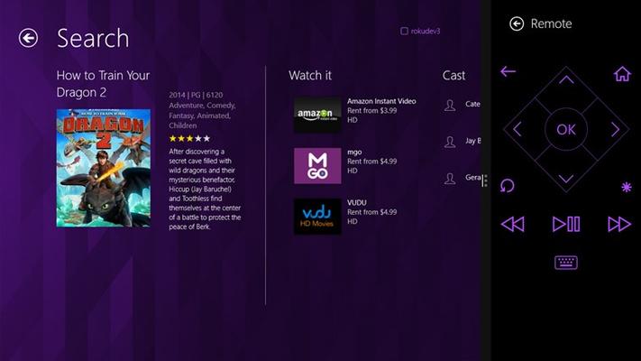 Roku for Windows 8