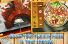 Show Your Yummy Pizza to Your Friends!