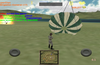 Jump into parachute and walk as a soldier