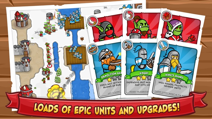 Loads of epic units and upgrades!