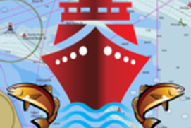 i-Boating: USA - GPS Nautical / Marine Charts - offline sea, lake river navigation maps for fishing, sailing, boating, yachting, diving & cruising
