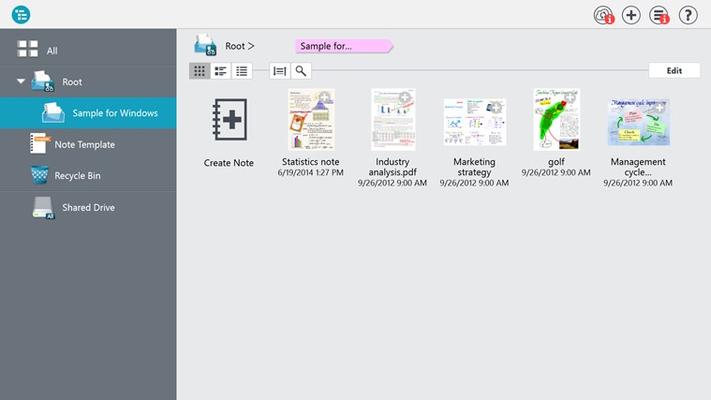 MetaMoJi Note Premium for Windows 8