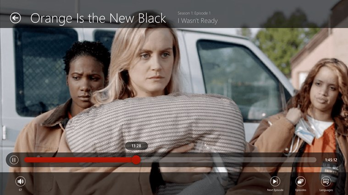 Netflix for Windows 8