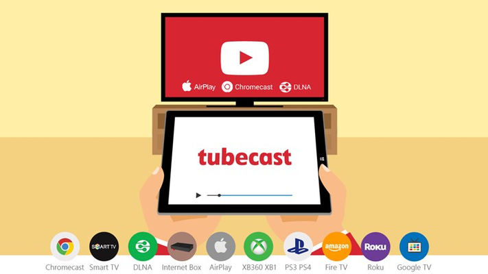 Tubecast feature