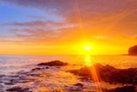 Seashore Sunrise - a refreshing morning wakeup