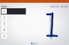 Menulis bagian untuk angka dalam mode horizontal.