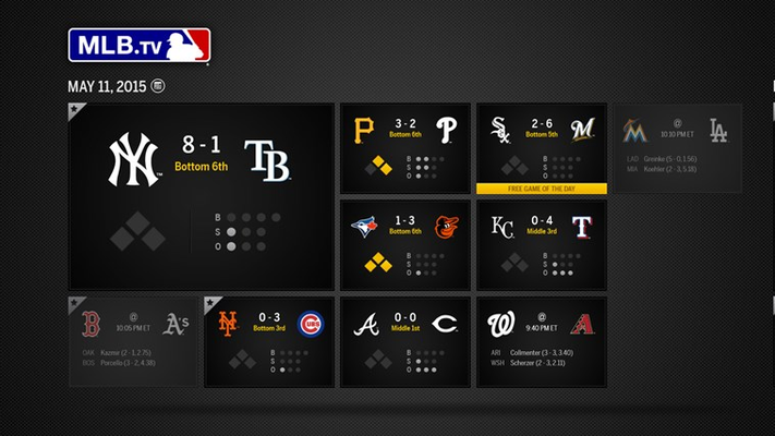 Today's Games Grid