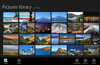 Thumbnails view helps you spot a specific picture quickly