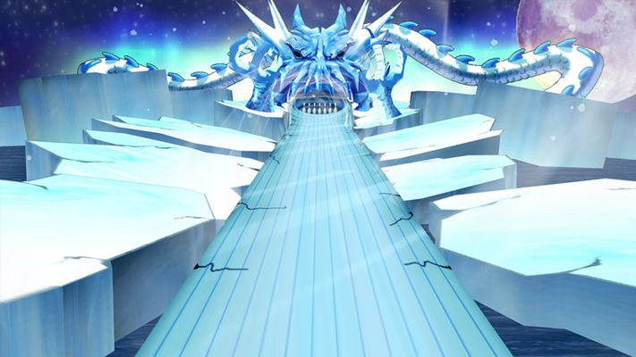 Create your own custom ball to battle the Ice Dragon.