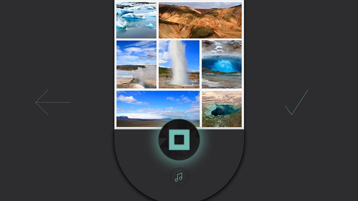 Have a favorite photo app? Use those images in Shuttersong and add sound.