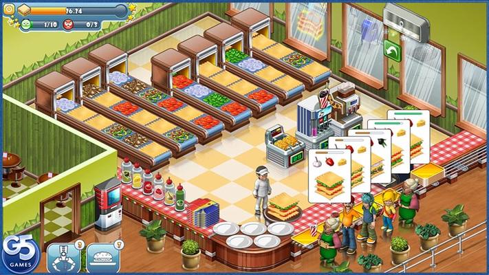 Feed hungry customers!