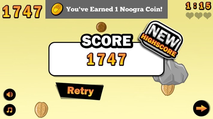 Collect coins to buy hats
