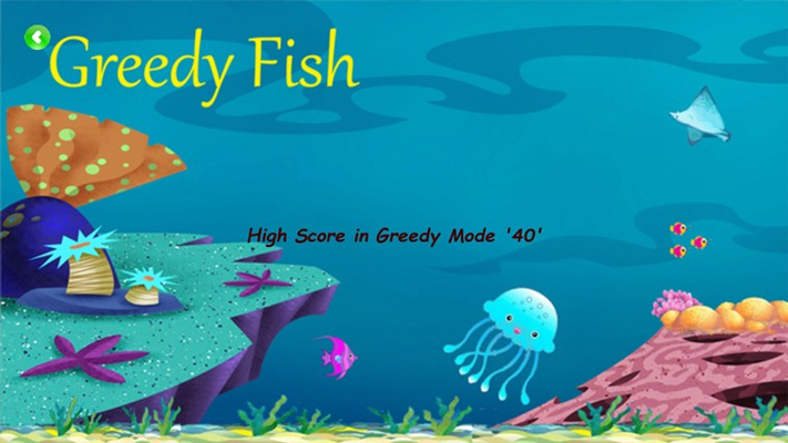 High Scores in Greedy Mode