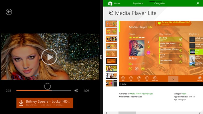 MP3 from iTube for Windows 8