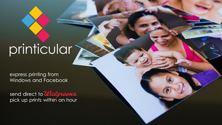 Pick up your photos from Walgreens within an hour