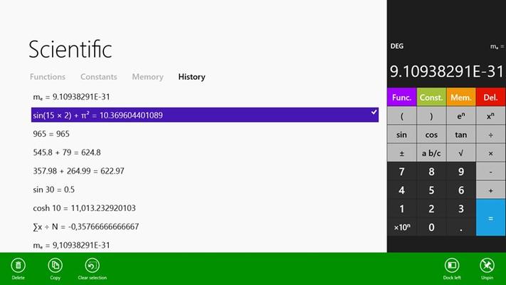 Calculator² for Windows 8