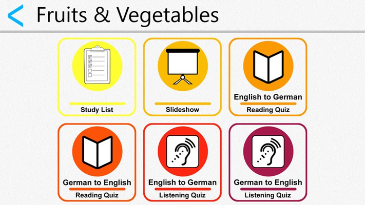 Learn German Fruits and Vegetables
