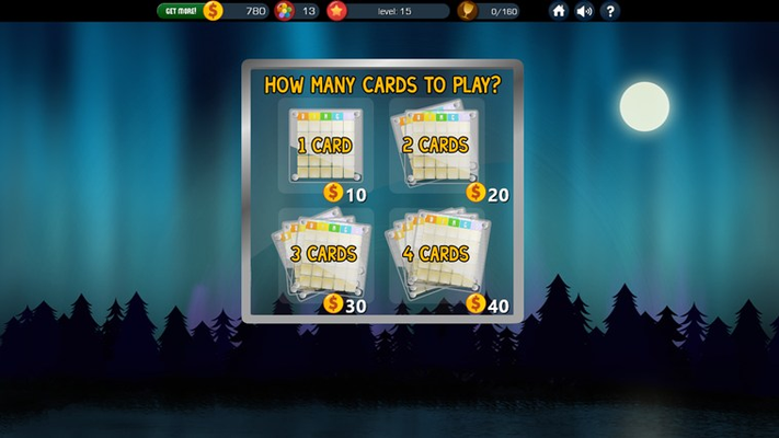 Choose how many cards to play!