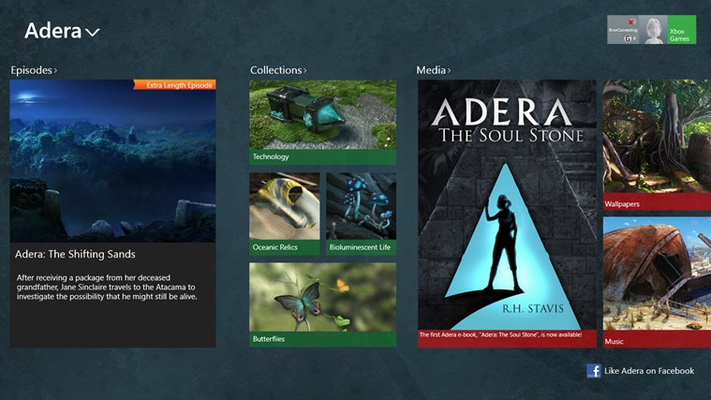Explore the hidden world of Adera