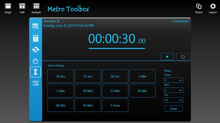 Metro Toolbox for Windows 8