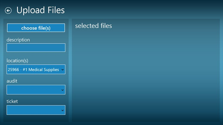 Ability to upload multiple files and attach them to Audits and Incidents