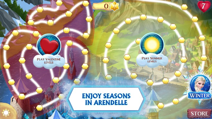 ENJOY SEASONS IN ARENDELLE