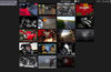 See all your media in a scrollable grid for easy access