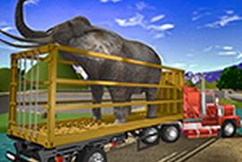 Wild Animals Transporter Truck Driving 3D