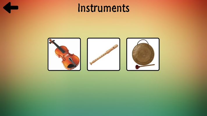 Musical instruments game.