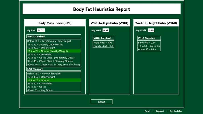 Report Screen