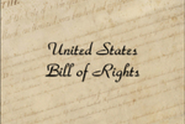 United States Bill of Rights - James Madison