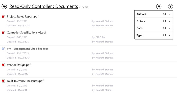 Link to documents associated with the project.