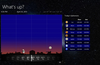Swipe the time-strip to zip forward in time - can you see Saturn tonight?
