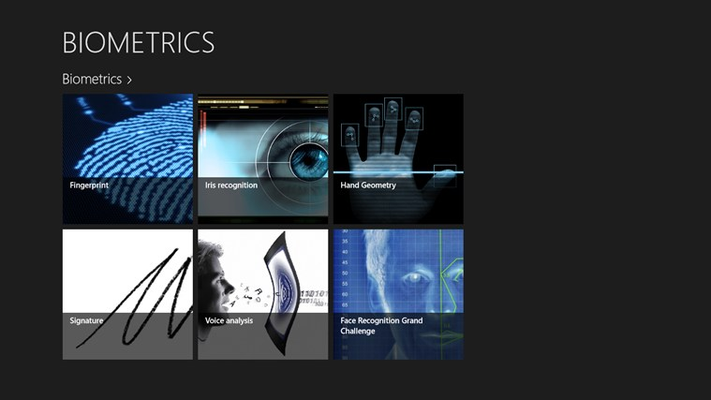 bio-metrics home page