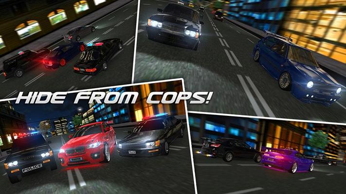 HIDE FROM COPS!