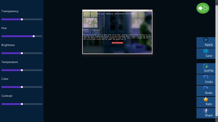 Artpixz Photo Editor for 10 for Windows 8