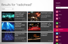 Search any playlist on YouTube using the Windows 8 search