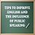 Tips to Improve English