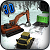 Heavy Snow Excavator: Blower & Truck Driving
