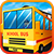 Blocky Urban City Schoolbus 3D