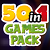50 in 1 Games Pack - FREE GAMES