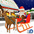 Santa Claus Christmas Transport - Gifts Delivery