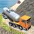 Oil Tanker Transporter Truck-Dangerous Hill Drive