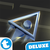 Maze Triangle Fly 3D