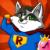 Raccoon Superhero Salon Crown Game